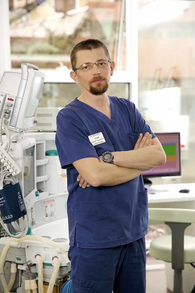 Врач-анестезиолог, реаниматолог Дмитрий Станиславович Гугнин